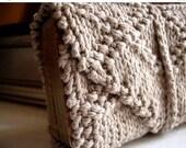 Summer Solstice Sale Tarot wrap / tarot case / knitted tarot wrap / tarot clutch / tarot travel / tarot card mat / tarot deck case / tarot r
