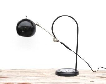 Mod Black Sonneman Style Adjustable Desk Lamp