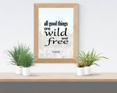 Printable Nature Quote - ...