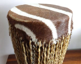 Vintage 1960's African Tribal Drum