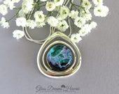 Teardrop Dichroic Glass P...