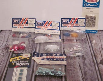 Crafts Sequin, Acrylic Jewels and Bead Bundle