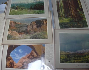 "Large Lot of 113 ""See Your West"" Photographic Prints and Several Album Covers Standard Oil Collectible Petroliana"