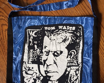 Tom Waits tshirt bag