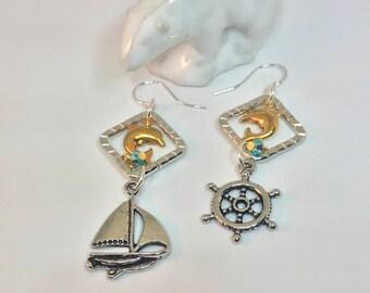 Love Sailing Earrings