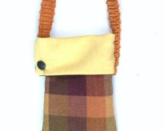 On Sale Crossbody Bag Fabric Handbag Geometric Design Handbag Recycled Handbag Small Tote Gift Ideas Hobo Bags Modern Tote