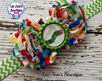 Multicolor Caterpillar headband