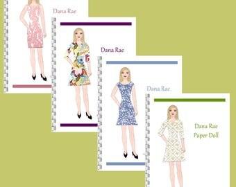 Dana Rae Paper Doll