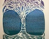 RESERVED Tree of Life ketubah - custom - ketubah listing