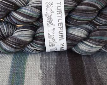 Zebra Diva - Hand-dyed Self-Striping Sock Yarn