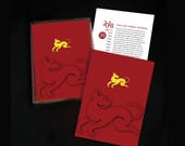 Year of the Dog Greeting Cards Set - Chinese New Year