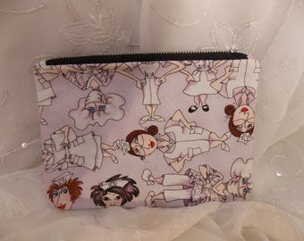 Nurse Pencil Pouch, Makeup Bag, Gadget Case, Medicine Bag, Artists Storage Bag, Medicine Pouch, Makeup Pouch