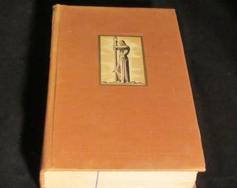 Canterbury Tales  by Geoffry Chaucer retold by J.U. Nicholson, Illustrated by Rockwell Kent Vintage book 1934