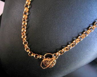 COLD LOCKET CHAIN Necklace