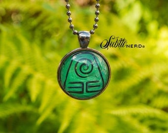 Earth Kingdom Necklace inspired by Avatar the Last Airbender