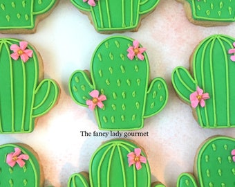 Cactus cookies 1 dozen