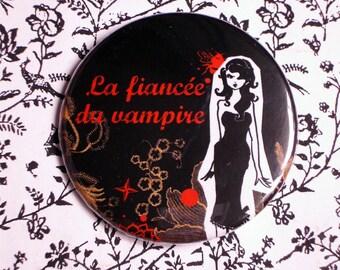 Large badge 'Vampire bride'