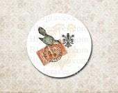 Stickers Envelope Seals Paris Eiffel Post Mark Bird Wedding Party Favor Treat Bag Sticker SP067