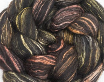 Luxury combed top,  Superfine Alpaca, Mulberry Silk, Falkland Merino. luxury fibre, combed tops, spinning wool, fiber,