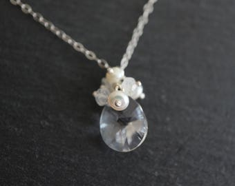 Silver Necklace For Your Happy Day - Sterling Silver