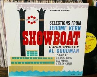Showboat Vintage Vinyl Musical Soundtrack Record