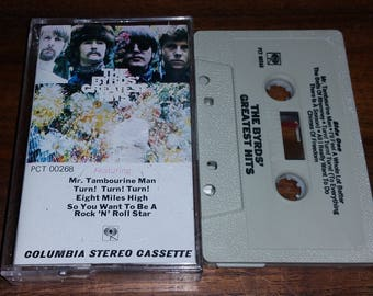 The Byrds Greatest Hits Vintage Audio Cassette Tape