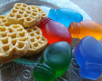 Stranger Things Waffles and Light Soap - waffles - christmas lights - novelty soap - stranger things