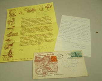 Oregon Centennial Pony Express Mail 1959