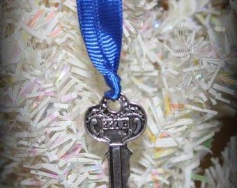 Summer SALE Sherlock Holmes 221B House Key Christmas Ornament