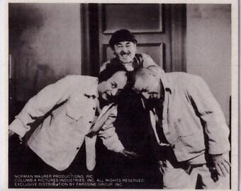 1974 Three Stooges Sticker BONKING HEADS