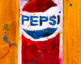 Pepsi Can  Vintage perfect for bar or kitchen