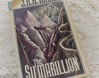 The Silmarillion by JRR Tolkien first edition 1977