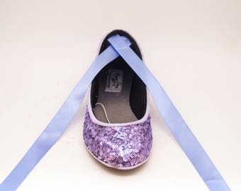 Personalize Your Shoes - Add Ribbons to your Ballet flats
