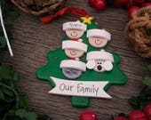 5 Family Tree - DESIGN YOUR OWN -Personalized and Hand Printed