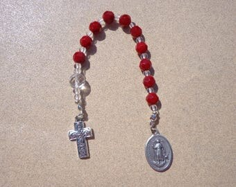 Saint Raphael, Archangel, Rosary -Patron Saint of Nurses, Travelers, Blindness, Pharmacists, Chemists, Sick People, Physicians, Young People