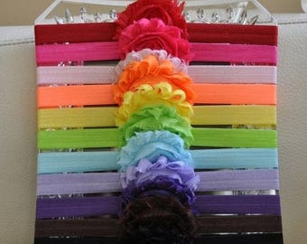 SUMMER SALE Baby Headband Set - 12 Pack