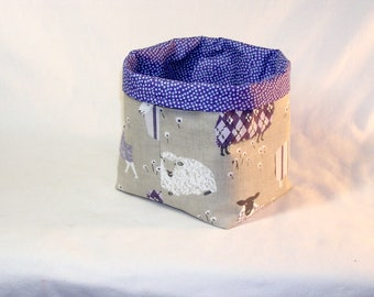 Sheep Sweaters in Lavender Tater Tot