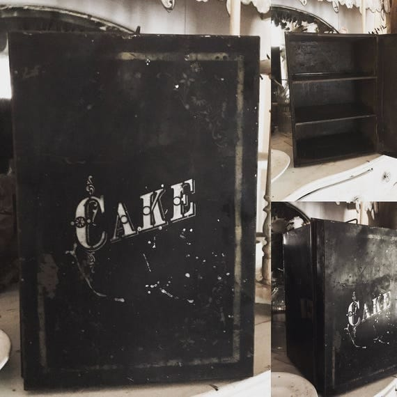 Antique Cake Safe, large cake safe,