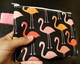 Flamingo Party Handbag /Cosmetic Bag
