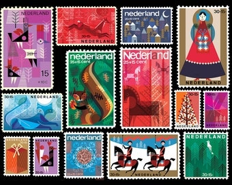Stamps Print