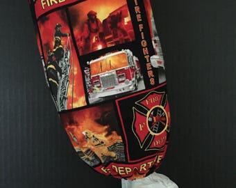 50% OFF SALE - Firefighters Plastic Bag Dispenser/Plastic Bag Holder