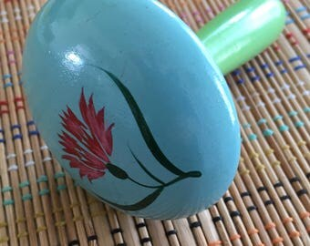 Hand Painted Vintage Darning Egg, Made in Japan- R