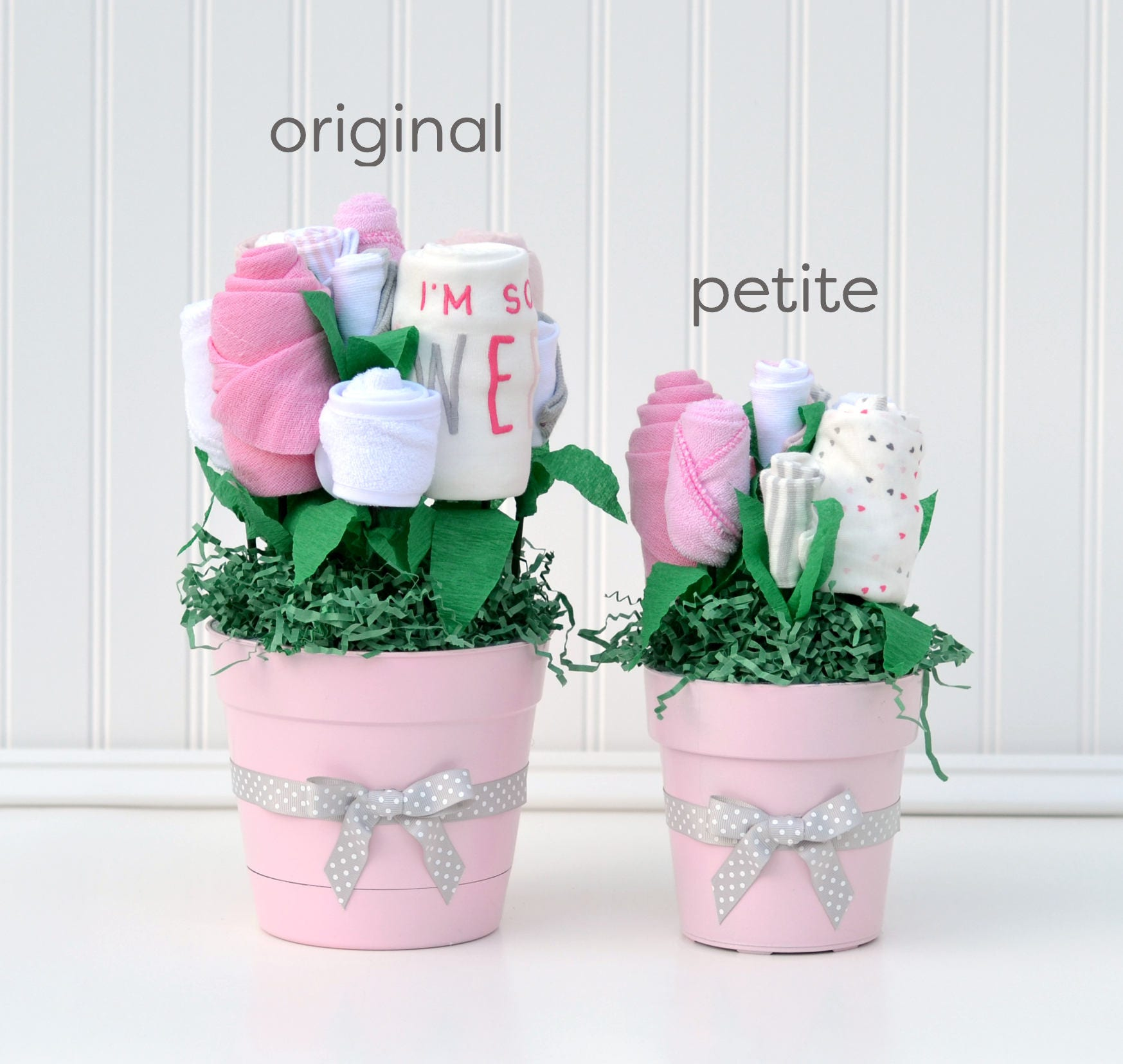 Twin baby shower centerpieces boy girl twin shower for Baby shower decoration twins