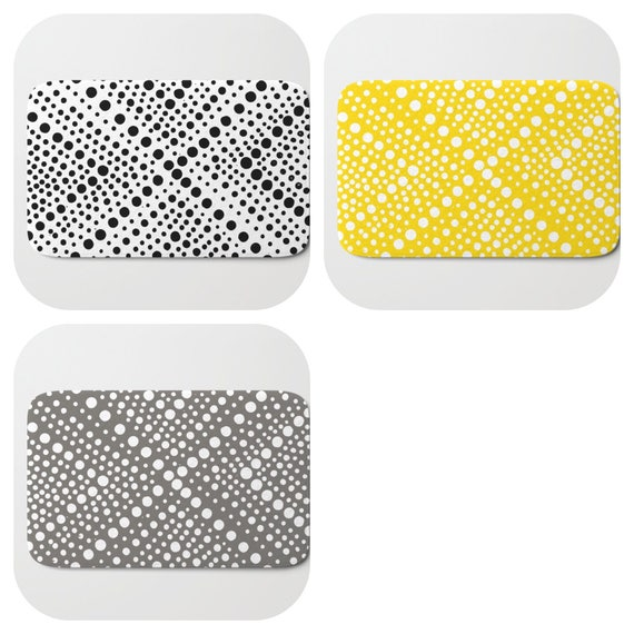 Bath Mat - Yellow Bath Mat - Black and White Bath Mat - Bath Rug - Gray Shower Mat - Wheel Rug - Warm Gray Rug - Mud Grey Memory Foam Mat