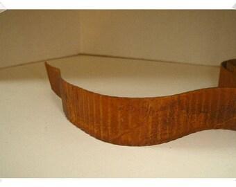 "Rusty Tin Corrugated Ribbon/1"" Wide/ Craft Supplies*"