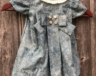 Silver Bells Vintage Inspired Baby 6 months
