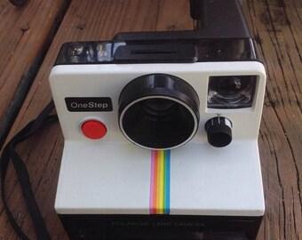 SALE Vintage Polaroid One Step Land Camera instant camera. Photography. Photographer. Photograph.