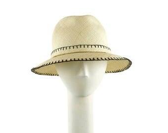 Womens Straw Hat, Panama Hat, Straw Fedora Hat, Womens Hat, Summer Hat for Women, Ladies Sun Hat, Womens Summer Hat, Beach Hat, Golf Hat