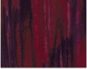 Moda - Salsa Batiks - Berry - Fabric by the Yard 4345-37