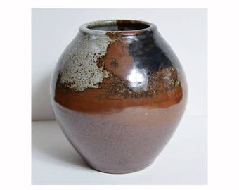 vintage 1960s NW Oregon Studio Pottery vase PHIL EAGLE